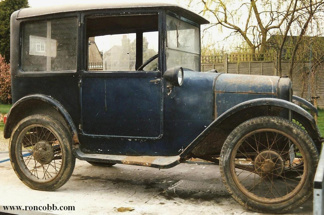 Austin 7 Top Hat saloon