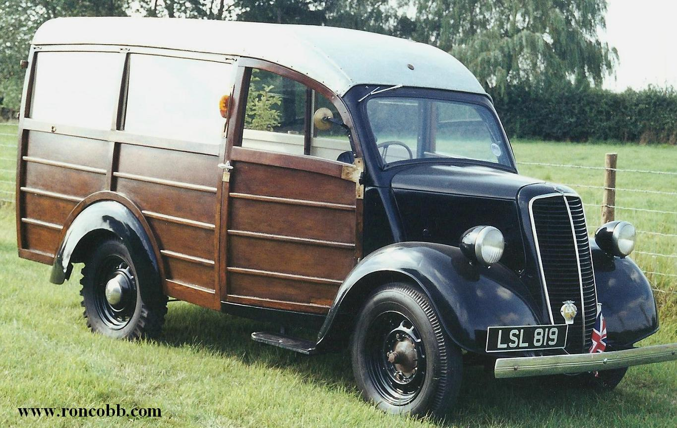 1951 Ford E83W 'Woody'