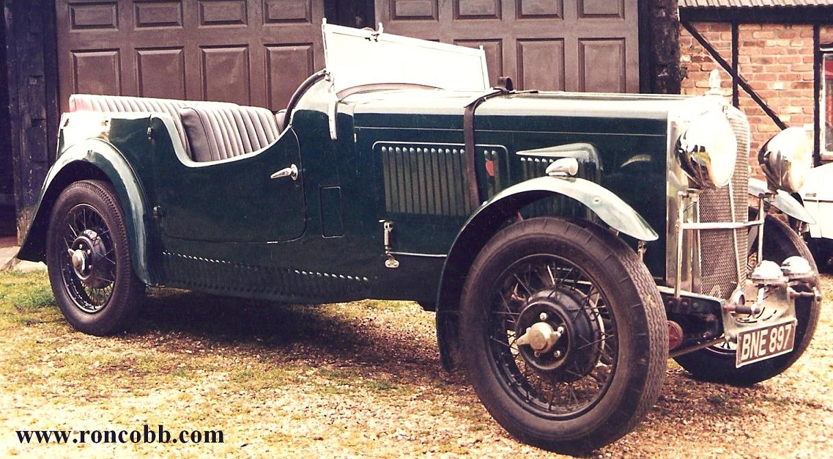 1935 Morris 10/6 Special Sports