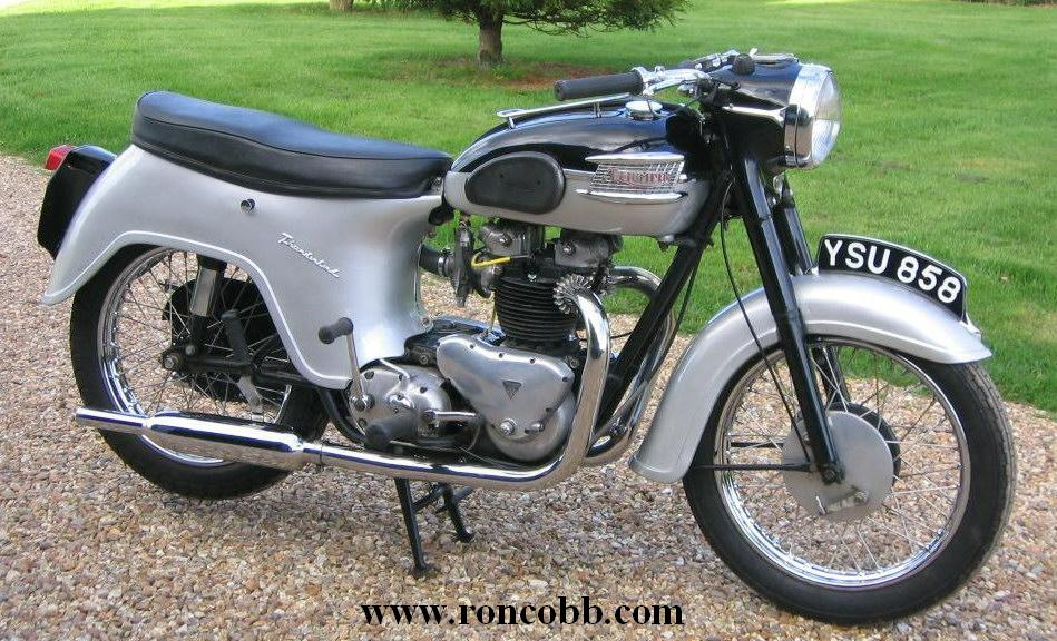 Triumph 1960 thunderbird classic motorcycle for sale for Vintage motor cycles for sale
